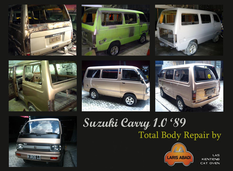 Suzuki Carry 1989, Cat Total | Laris Abadi